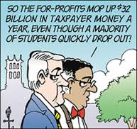 dropout cartoon