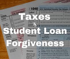 Taxes-and-SL-Forgiveness